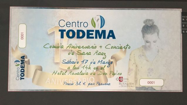 Evento 15 Aniversario Centro Todema